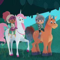 Нелла - принцеса лицар 103 серія. На добраніч, драконе / Схованки в замку