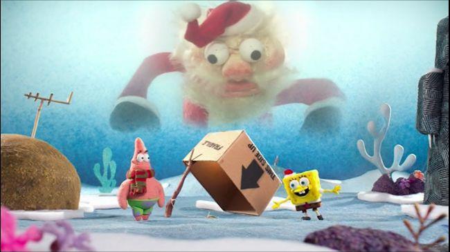 Губка Боб Квадратні Штани 8 сезон 175 серія. Губка Боб святкує Різдво