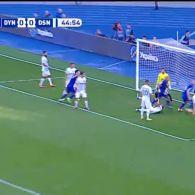 Динамо – Десна – 1:0. Відео голу Бурди