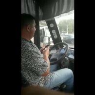 Під Києвом водій маршрутки накинувся на АТОшника
