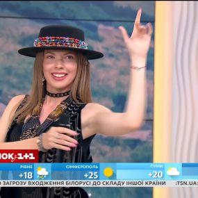 Христина Охітва – Гуцулка Ксеня – музика у Сніданку з 1+1