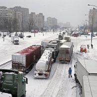 Київ замело снігом