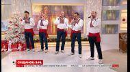 ManSound Рождественский: праздничная атмосфера и приглашение на концерт в студии Сніданка