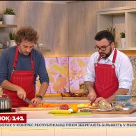 Євген Клопотенко приготував корисний овочевий сніданок для дітей