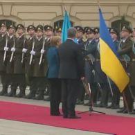 Меркель заговорила українською