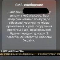 У Польщі та Україні чоловікам надійшли фальшиві смс із закликом з'явитися у військовій частині