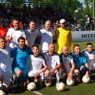 Шевченко, Ребров и Воронин сыграли вместе в благотворительном матче Легенды футбола