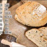 Італійський хліб з оливками – рецепти Руслана Сенічкіна