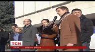 Пікет під стінами ЦВК провели сьогодні представники демократичних сил столиці