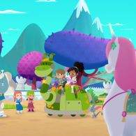 Нелла - принцеса лицар 114 серія. Метелики і дракони / Карети, візки і гігантомобілі