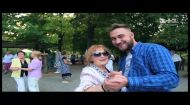 Как в Киеве Руслан Ханумак под открытым небом танцевал