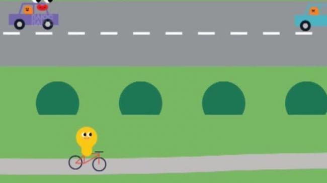 Додай уваги на дорозі1 серія. Грати в ігри поруч з дорогою - заборонено!