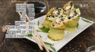 Овочевий рол з крабовими паличками - рецепти Сенічкіна