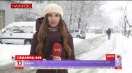 Вхурделило на повну: журналістка Сніданку розповіла, як в Україні зустріли сніговий циклон