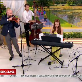 Віртуозний гурт Kiev Tango Project з новою програмою у Сніданку з 1+1
