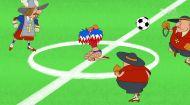 Козаки. Футбол 1 серія. Франція