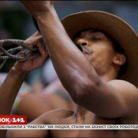 У новому випуску Світу навиворіт Дмитро Комаров познайомиться з диким плем'ям