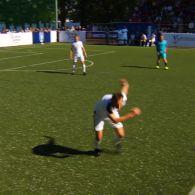 Накануне Лиги чемпионов в Киеве на одно поле вышли легенды футбола