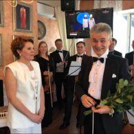 Елена Фроляк на свой юбилей устроила концерт с оркестром