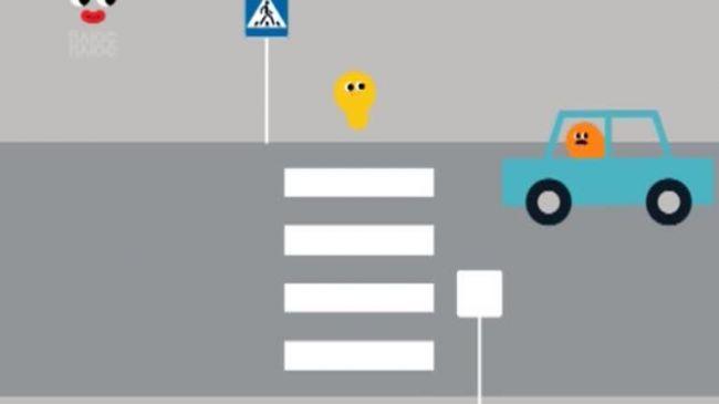 Додай уваги на дорозі 3 серія. Переходь дорогу лише там, де намальована зебра!