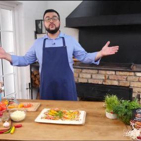 Лаваш с овощами на гриле - рецепты Сеничкина