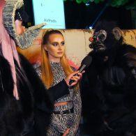 Николай Тищенко в образе обезьяны признался, сколько потратил на праздник Хэллоуина, на котором «гудела» все столица