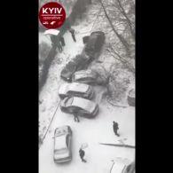 Масштабне ДТП на Кудряшова в Києві