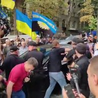 Бійка у Києві за участю Насалика