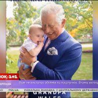 Принц Чарльз із маленьким Луї прикрасив обкладинку британського журналу