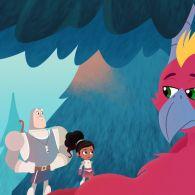 Нелла - принцеса лицар 115 серія. Похід сера Тренера / Дракон-лицар