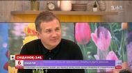 Юрий Горбунов спел в эфире Сніданка – #співайтанцюйготуй