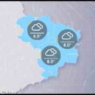 Прогноз погоди на вівторок, 6 листопада