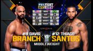 UFC. Девід Бренч - Тьяго Сантос. Відео бою