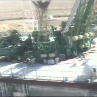 """Відео з місця аварії носія під час старту ракети """"Союз"""" до МКС"""