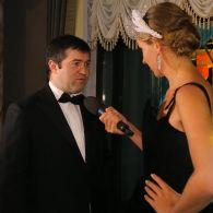 Экс-глава Государственной фискальной службы Роман Насиров на венском балу заявил, что идет в Президенты