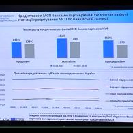 Прес-конференція щодо результатів фінансової Програми НУФ для малих та середніх підприємств