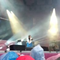 Земфіра виступила на фестивалі в Мінську з російським прапором