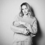 Алла Добкина после рождения сына вышла на подиум