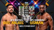 UFC. Рафаель дос Аньос - Камару Усман. Відео бою