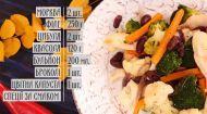 Соте із м'ясом та квасолею - рецепти Сенічкіна
