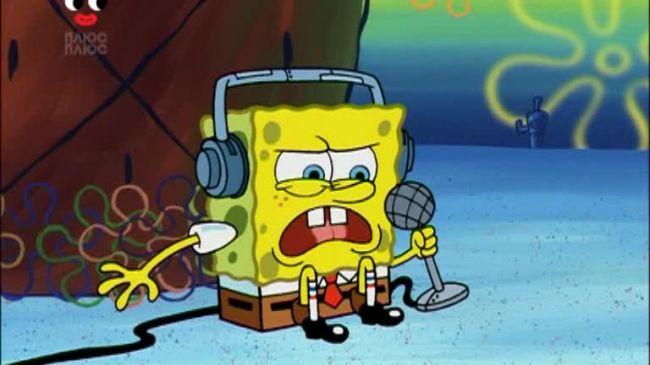 Губка Боб Квадратні Штани 4 сезон 79 серія. Поля медуз. Міні-Сквід