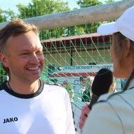 Андрей Данилевич сыграл с легендами футбола в благотворительном матче