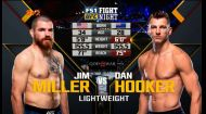 UFC. Джим Міллер - Ден Хукер. Відео бою