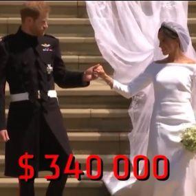 Во сколько обошлась свадьба принца Гарри и Меган Маркл