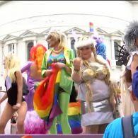 Как проходил марш равенства в Киеве