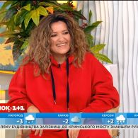 """Наталя Могилевська презентувала свій кліп """"Personal Jesus"""" у студії Сніданка"""