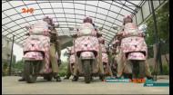 Столицю Індії патрулює жіночий екіпаж у рожевих шоломах