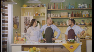 Їмо за 100. Готуємо три м'ясні страви разом із актором Артемом Позняком та його дружиною Олександрою