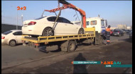 Київські інспектори з паркування взялися за любителів кинути своє авто абиде