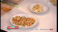 Евгений Клопотенко и Богдан Юсипчук приготовили жареный рис с овощами и супервитаминный салат